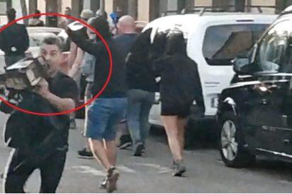 """La amenaza de los CDR a VOX motosierra en mano: """"Pim, pam, pum, que no quede ni uno"""""""