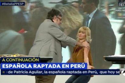 El extraño momento en que la imprevisible Susana Griso pide a un invitado que le ponga las manos encima
