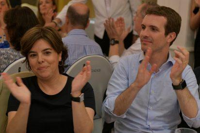 Los de siempre: Soraya incluye en su cuartel general de campaña a Arenas y Arriola