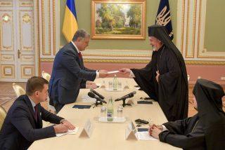 El presidente de Ucrania pide una iglesia ortodoxa independiente del Patriarcado de Moscú