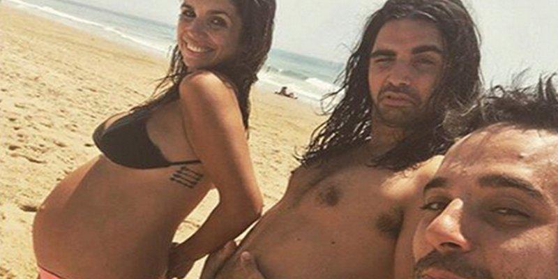 Elena Furiase luce feliz su embarazo en biquini