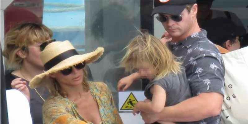 Los cachas del equipo de seguridad de Elsa Pataky y Chris Hemsworth se lían a puñetazos con los paparazzi
