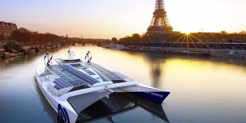 Así es el Energy Observer, el primer barco impulsado por hidrógeno