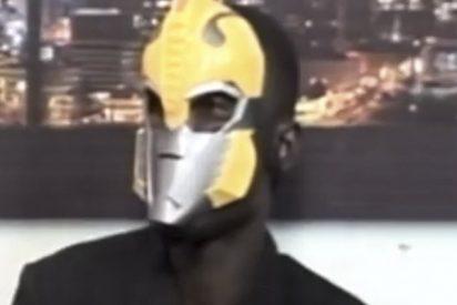 Este joven enmascarado confiesa haber sacrificado a 675 ghaneses, la mayoría de ellos niños