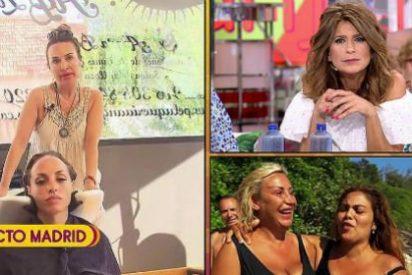 El momento más cutre de la historia de la TV: así promociona 'Sálvame' a los 'buitres'