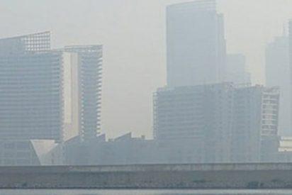Un espejismo hechiza a los chinos tras el paso de un tifón