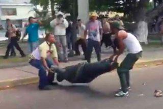 En medio de la furia por otro apagón en Zulia volvieron a destrozar un monumento a Hugo Chávez