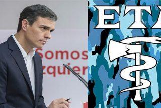 El socialista Sánchez acerca al País Vasco a otros 5 etarras un día después del show de la destrucción de armas