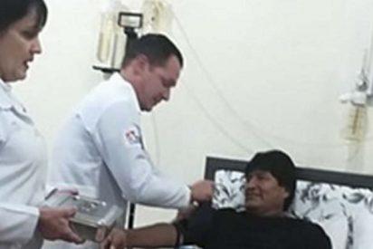 Evo Morales se somete a una cirugía de emergencia para eliminar un tumor