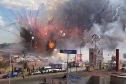 Así fueron las explosiones de los almacenes pirotécnicos en el centro de México que han dejado varios muertos