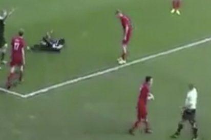 El único jugador que supera a Neymar haciendo teatro tras una entrada