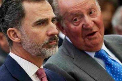"""Don Juan Carlos, a su hijo el Rey de España: """"Felipe, coño, divórciate"""""""