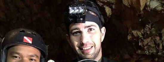 Fernando Raigal, el buzo español que participa en el rescate de los niños atrapados en la cueva de Tailandia