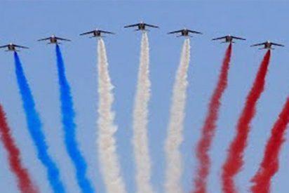 Incidentes marcan desfile militar dedicado a la fiesta nacional en Francia