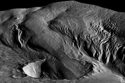 Revelan que el polvo superficial marciano proviene de una gran formación geológica