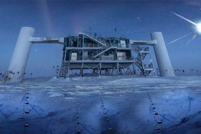 Descubrimiento histórico de una fuente de 'partículas fantasma' de alta energía