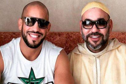 El 'amigo' con el que el rey de Marruecos pasa sus vacaciones mientras la reina anda por ahi, se llama 'Gladiator' y llegó de una cárcel alemana