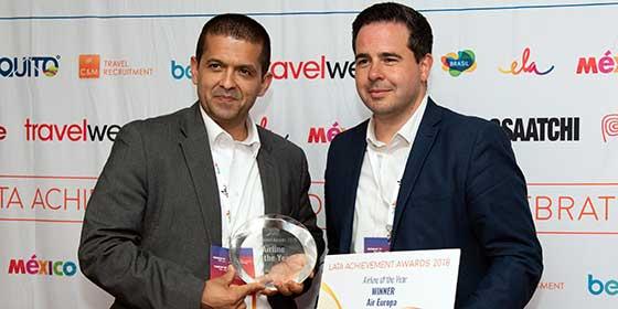 Air Europa, aerolínea del año por la Latin American Travel Association