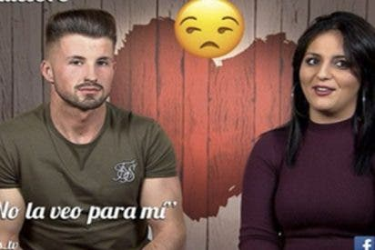 El tipo más engreído de 'First Dates' ve a la camarera rusa y le hace esto a su cita