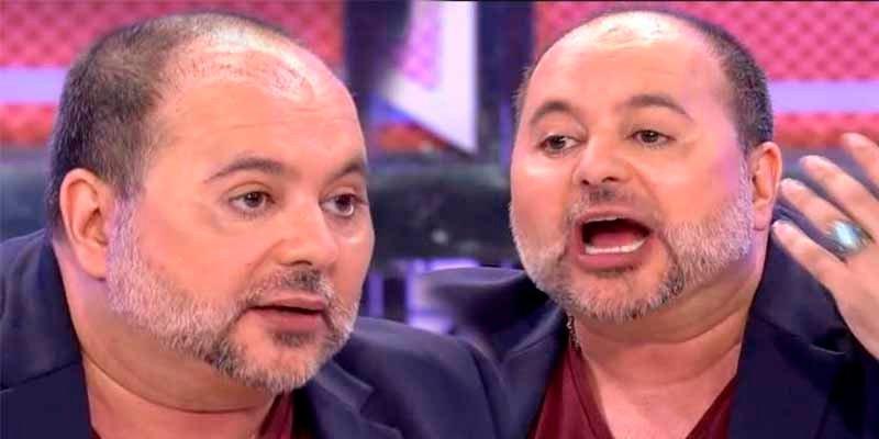 El periodista Sergio Alis se pone gordo como un tonel a pesar de cortarse la lengua para adelgazar