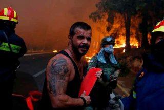 Grecia: Al menos 50 muertos y 156 heridos en los incendios que carbonizan el país