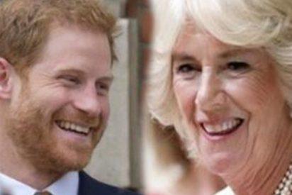 El príncipe Harry confiesa la verdad sobre su relación con la amante de su padre, Camilla Parker