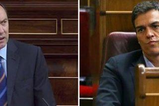 """El soberbio chorreo de Rafa Hernando a Pedro Sánchez: """"Ha empezado usted como Zapatero, ¡acabe pronto!"""""""