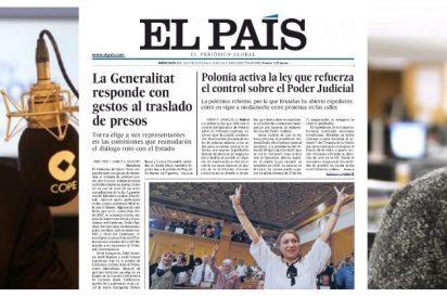 Carlos Herrera le propina un fulminante palo a El País por edulcorar la imagen del golpista Torra