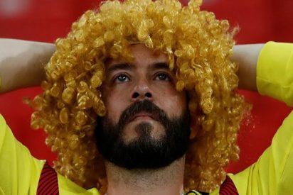 Fanáticos colombianos agradecen a su selección desde Moscú