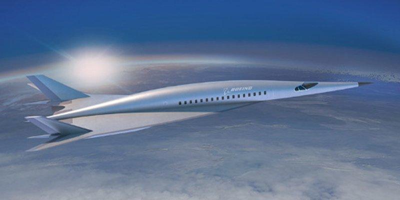 Así es el avión de pasajeros hipersónico presentado por Boeing