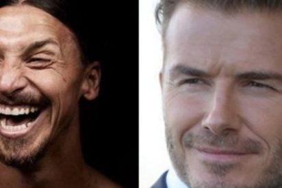 La extravagante apuesta en Instagram de Ibrahimovic y Beckham previo al Suecia-Inglaterra