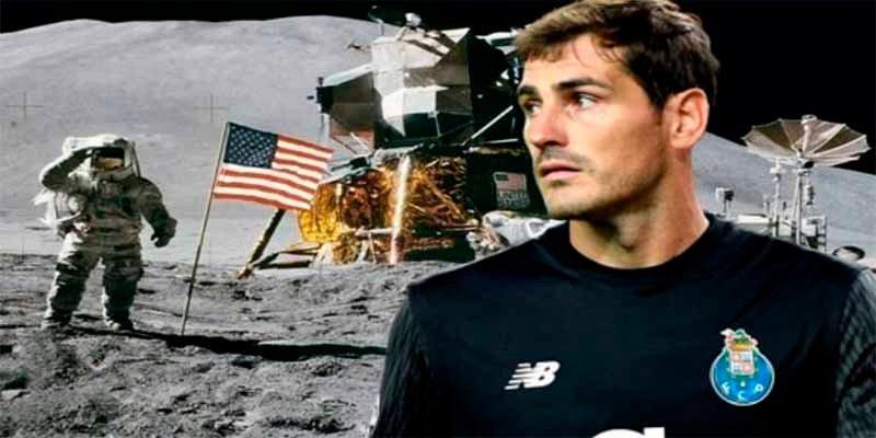 Iker Casillas niega en Twitter que el hombre haya llegado a la Luna