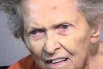 Una cabreada anciana de 92 años mata a su hijo poque la quería meter en una residencia