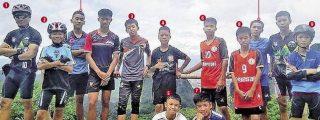 Rescatados con éxito los 12 niños y su entrenador atrapados en la cueva de Tailandia