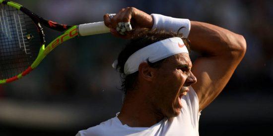 Wimbledon: Rafa Nadal gana a Del Potro en un duelo de gigantes y espera a un 'renacido' Djokovic