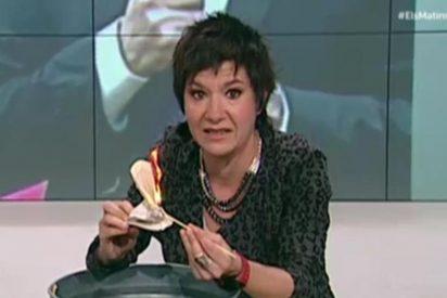 Empar Moliner, la mamporrera de la golpista TV3, se lleva un hostión por 'expulsar' a Arrimadas de Cataluña