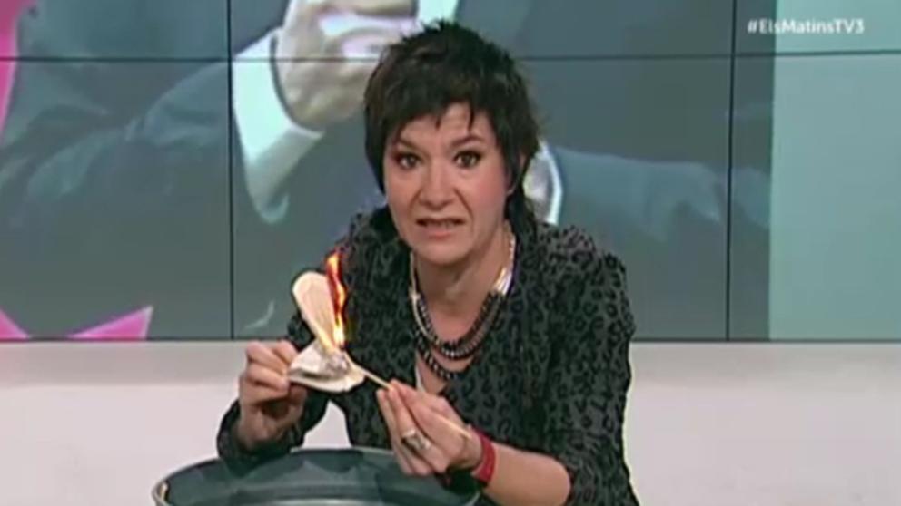 La racista Empar Moliner (TV3) insinúa que se enviaron temporeros infectados de coronavirus de Andalucía a Lérida