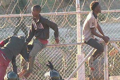 Así quedó la zona fronteriza de Ceuta después de la entrada de 700 inmigrantes