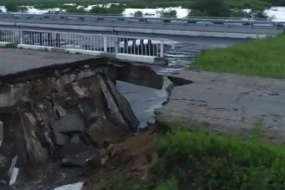 Así son las dramáticas consecuencias de las inundaciones en Siberia