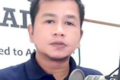 Matan a tiros a este locutor de radio en Filipinas