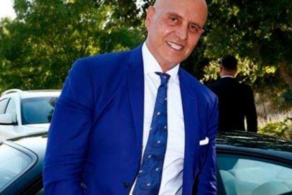 Kiko Matamoros va sin Makoke a la boda de su hijo Diego Matamoros