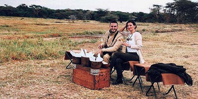 Así fue la luna de miel en Tanzania de Koke Resurrección y Beatriz Espejel