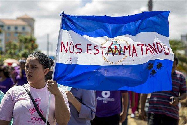"""Los obispos de Honduras y Guatemala condenan la violencia """"cobarde y canalla"""" en Nicaragua"""