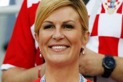 La presidenta croata dirige un emotivo mensaje a los rusos