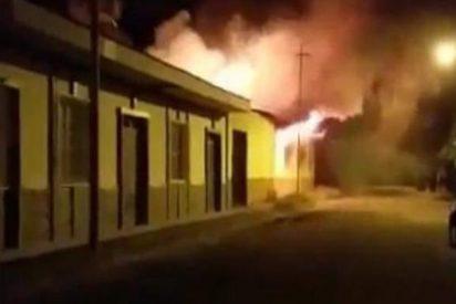 La Iglesia nicaragüense denuncia el incendio en la sede de Cáritas