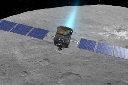 La sonda espacial Dawn toma estas impresionantes imágenes del planeta enano Ceres
