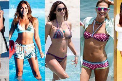 Top 5 mejores piernas de 'Miss Soleil': Pedroche, Lara Alvarez, Ariadne Artiles, Patri Conde y Laura Sánchez