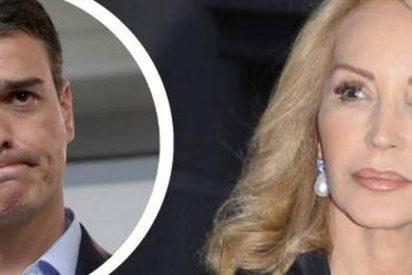 Carmen Lomana deja con el culo al aire a Pedro Sánchez