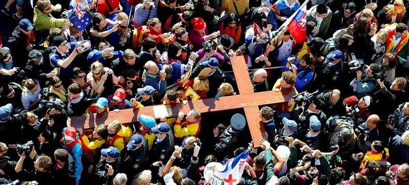 """Santiago López Castillo:""""La señal de la cruz"""""""