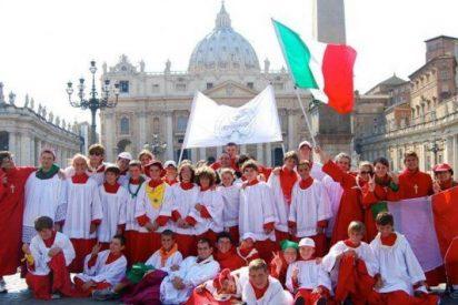 Miles de monaguillos inundan las calles de Roma